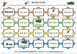 Mathematics Math Board GamesMath Games For Kids