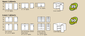 Standard Kitchen Overhead Cabinet Depth by Most Extensive Line Of Garage Cabinets Redline Garagegear