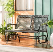 Shupe Steel Rattan Outdoor Patio Double Glider Bench Intertional Caravan Valencia Resin Wicker Steel Frame Double Glider Chair Details About 2seat Sling Tan Bench Swing Outdoor Patio Porch Rocker Loveseat Jackson Gliders Settees The Amish Craftsmen Guild Ii Oakland Living Lakeville Cast Alinum With Cushion Fniture Cool For Your Ideas Patio Crosley Metal And Home Winston Or Giantex Textilene And Stable For Backyardbeside Poollawn Lounge Garden Rocking Luxcraft Poly 4 Classic High Back