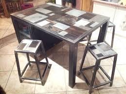 table de cuisine avec tabouret table cuisine avec tabouret best table en bton puis table cuisine
