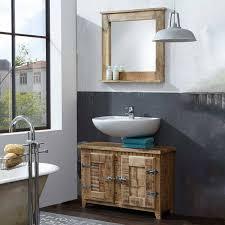 shabby waschtisch spiegel suennas 2 teilig