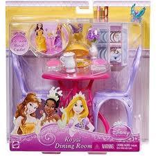 Princess Kitchen Play Set Walmart by Amazon Com Disney Princess Royal Dining Room Set Toys U0026 Games