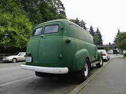 100 1952 Chevy Panel Truck Seattles Parked Cars 1954 GMC Van