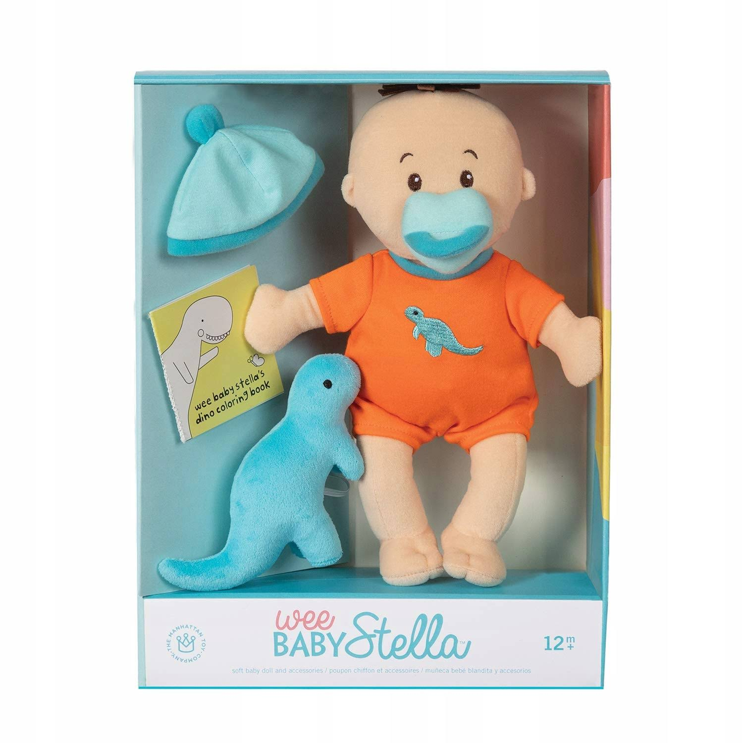 Manhattan Toy Wee Baby Stella Tiny Dino Set