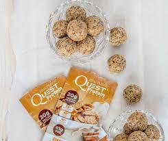 Cinnamon Crunch Breakfast Protein Balls