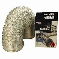 deflecto 125mm x 3 6m supurr flex vent ducting bunnings warehouse