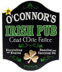 Pub Signs and Personalized Signs from The Perfect Sign Irish Pub
