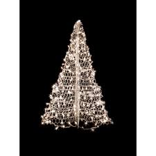 Crab Pot Trees 4 Ft Indoor Outdoor Pre Lit Incandescent Artificial Christmas Tree