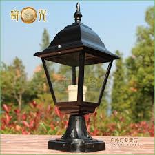 lighting outdoor post light fixture parts outdoor led post