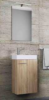 vcm waschtisch gäste waschplatz mit spiegel slito