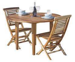 Amazon.com - EcoDecors 48in Oasis Round Teak Dining Table ... Elegant Teak Ding Room Chairs Creative Design Ideas Set Garden Fniture Stock Image How To Choose The Right Table For Your Home The New Danish Teak Ding Table Wavesnsultancyco 50 With Bench Youll Love In 20 Visual Hunt Wooden Bistro And Fully Assembled Heavy Austin Dowel Leg Molded Tub Chair Contract Translucent Indoor Louis Xvi White Enchanting Powder Danish Coffee Solid Round Circa Contemporary Modern Splendid Draw Leaf