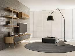casa padrino luxus wohnzimmer tv schrank set braun grau messingfarben 1 tv schrank 1 hängeschrank 1 wandregal edles wohnzimmer möbel set