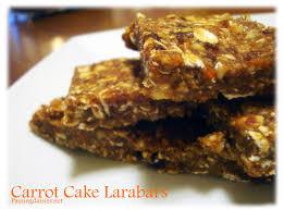 Vegan MoFo 30 Carrot Cake Lara Bars