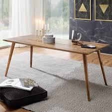 finebuy esstisch suva4915 1 esszimmertisch sheesham rustikal massiv holz design landhaus esstisch tisch für esszimmer groß 6 8 personen fsc