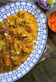 biryani indian cuisine lighter chicken biryani cooked in and yogurt
