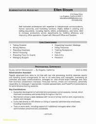 Luxury Executive Assistant Resume Sample Awesome Example Ass Full Size