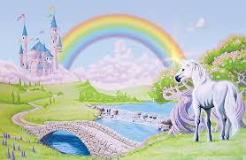 Unicorn Rainbow Wallpapers Zone Desktop Background