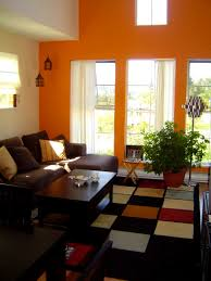 Red Brown And Black Living Room Ideas by Bedroom Glamorous Fascinating Orange And White Walls For Living