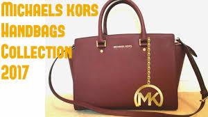 michaels kors handbags collection 2017 youtube