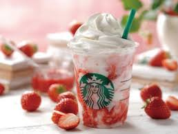 Starbucks Japans Popular Flavor Strawberry Cream FrappuccinoR Will Be Sold For A Limited Time