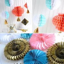 Splendent Diy Paper Party Decoration Aly Dosdall Honeycomb
