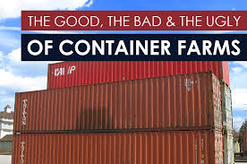 The Good, The Bad, And The Ugly Of Container Farms – Bright Agrotech ... Ships Trains Trucks And Big Boxes The Complexity Of Intermodal Local Inventors Ppare To Launch Their Product For Towing Storage Truck In Container Depot Wharehouse Seaport Cargo Containers Forklift And With Shipping Stock Photo Image North South Carolina Conex Ccc Insulated Lamar Landscape Of Crane At Trade Port Learning About Trucking Dev Staff Side Loader Delivery 20ft Youtube Plug Play City How Are Chaing Promo Gifts Promotional Shaped Mint Fings