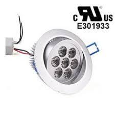 adjustable 5w led recessed ceiling spotlight light l