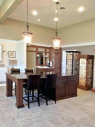 Traditional Cabinet Pulls Brushed Nickel Dining Room With Drawer Dark Wood