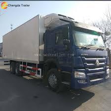 100 Truck Reefer China Sinotruk Howo 6x4 Cheap 10 Wheeler Refrigerator Chill