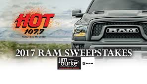 2017 Ram Sweepstakes | WUHT-FM Build Your Tundra Sweepstakes Julies Freebies Stabil 360 Custom Car Winner Presentation Cool Jasons Story The Of Knapheides Winatruck Win That Ford Mustang Sweeptsakes Mungenast St Louis Honda Enter The Camp Ridgeline Bangshiftcom Classic Liquidators Upgrade Brakes On A 1971 C10 Chevy Pickup Truck Cabelas Announces More Winners Fifty Years Trucks Horsepower Pitvsind Youtube Monster Trucks Merchandise Nra Blog Truck Raffle Receives Prize