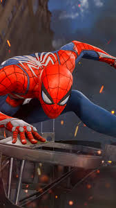 iPhone 8 Plus Video Game Spider Man PS4 Wallpaper ID