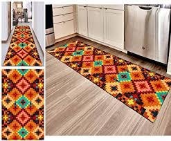 hciszl teppich läufer flur bunt 80x200cm nach maß korridor rutschfest waschbar küchematte schlafzimmer bettumrandung marokkanischer eingangsmatte