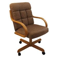Casual Rolling Caster Dining Chair With Swivel Tilt In Oak Wood With Fabric  Seat And Back (Set Of 2) Oak Ding Chairs Ding Room Set With Caster Chairs Wooden Youll Love In Your The Brick Swivel For Office Oak With Casters Office Chair On Casters Art Fniture Inc Valencia 2092162304 Leather Brooks Rooms Az Of Fniture Terminology To Know When Buying At Auction High Back Faux Home Decoration 2019 Awesome Hall Antique Kitchen Ten Shiloh Upholstered Pisa Gray Ikea Ireland Cadejiduyeco