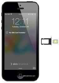 Iphone Iphone 5 No Sim Card