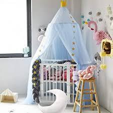 hayisugar betthimmel für kinder babys bett kuppel chiffon