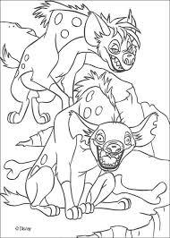 Two Hyenas Shenzi And Banzai
