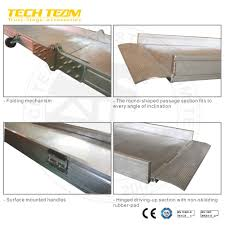 100 Aluminum Loading Ramps For Pickup Trucks China Manufacturer ATV Heavy Duty Truck Ramp AntiSlip