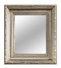 casa padrino barock spiegel silber 32 x h 37 cm wohnzimmer accessoires im barockstil barockgroßhandel de