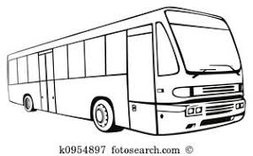 land transportation clipart black and white 1