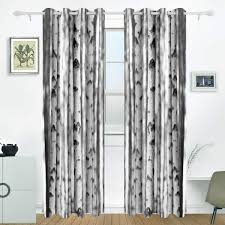 Amazoncom JSTEL Winter Christmas And New Year Curtains Drapes