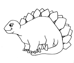 Plain Realistic Dinosaur Coloring Pages Inside Different Article