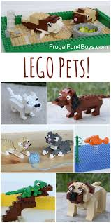 Best Type Of Christmas Tree For Cats by Lego Pets Building Instructions For Dogs Cats Guinea Pigs