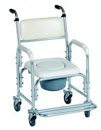 Handicap Toilet Chair With Wheels by Distripharm Ltd