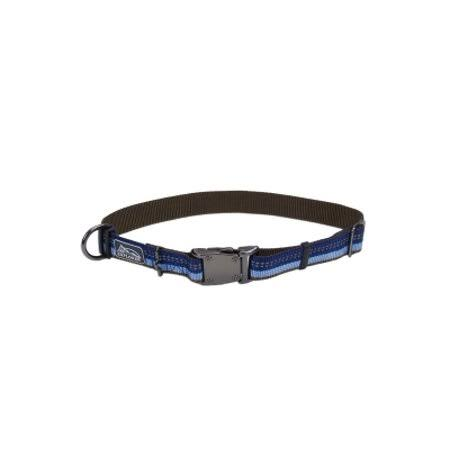 Coastal Pet Reflective Nylon Adjustable Dog Collar - Blue