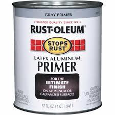 Rust Oleum Decorative Concrete Coating Applicator by Rust Oleum Stops Rust Latex Aluminum Primer 8781502 Do It Best