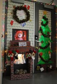 Christmas Classroom Door Decoration Pictures by Fireplace Christmas Door Decorations Rainforest Islands Ferry