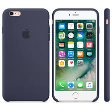 iPhone 6s Silicone Case Midnight Blue Apple