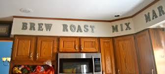 Cooking Verbs Kitchen Decor