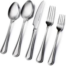 Amazon.com: Flatware Sets: Home & Kitchen Best Rose Gold Flatware Popsugar Home 32 Best Images On Pinterest Spoons And Utensils Pottery Barn Lorraine Callahan 3d Cgtrader Stainless Set Wood Handles Basic Service For 6 Mepra 70 Retro Retro Flatware Ding Restaurant Vintage Oneida Silverware Mercari Buy Sell Kade Cutlery Buy Me 5 Piece Place Setting Antique Silver Steel Maxfield Ca Ridge Pc 2 Complete Sets Ebay Caroline Kitchen Ding Knife Lucca Golden 20piece