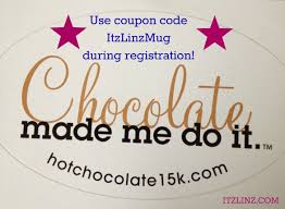 Hot Chocolate 15k Or 5k Race Coupon Code: ITZLINZMUG | Hot ... 30 Off Becky Jerez Coupons Promo Discount Codes Aaa Sign Up Code Potomac Mills Outlet Coupon Book Herbalife That Work Herbalife The Herbal Way Coupon Code Bana Wafer Shake In 2019 Recipes 20 Extravaganza Promo Former Executives Charged With Conspiracy To Bribe Coupons For Products Actual Sale April 2018 Ldon Vouchers Health Eco Logo Template Ceo Richard Goudis Resigns Wsj